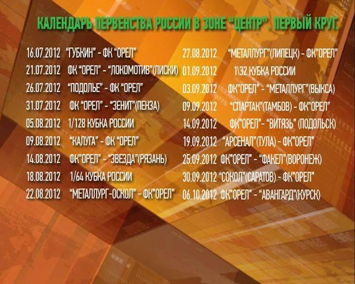 футбол таблица чемпионата россии 2011